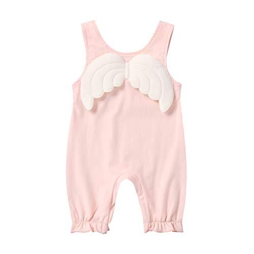 Wang-RX Säugling Baby Kinder Mädchen Kleidung Blumenspielanzug Tops Röcke Overalls Sommer Neugeborene Mädchen Kleidung