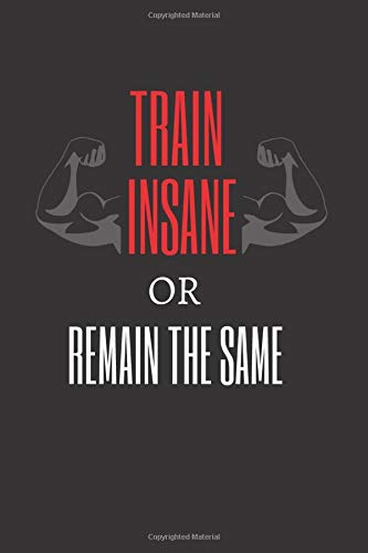 TRAIN INSANE OR REMAIN THE SAME: Workout