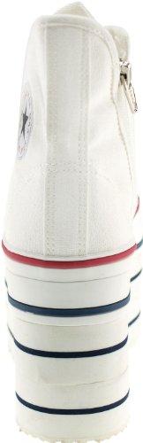 Maxstar  CNW-8H-Big, Basses femme Blanc - blanc