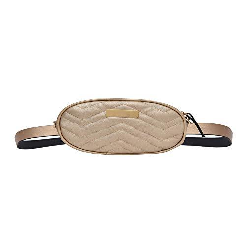 JTSYHFashion Casual Lady's Weste Bestickt Gewinde Brusttasche Kleiner Rucksack einzelne Schultertasche,A (Bestickte Womens Weste)