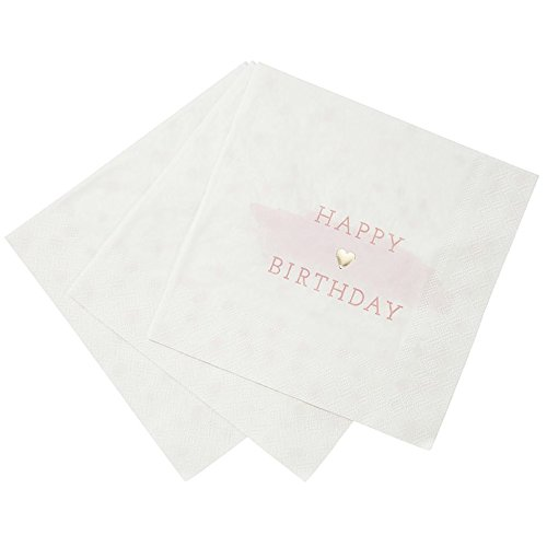 16 Servietten Happy Birthday