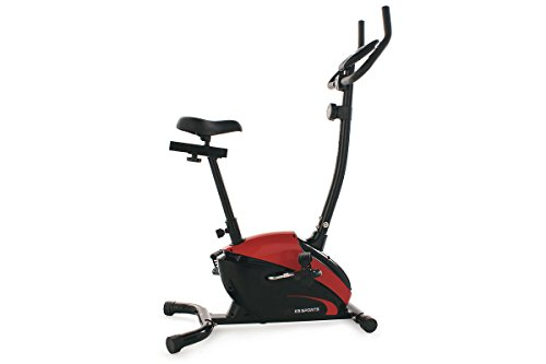 KS Cycling Fitnessgerät Heimtrainer Sports, Rot, 103F