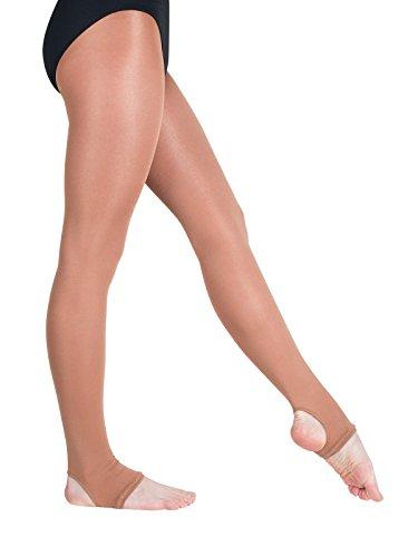 Rumpf Ballett Strumpfhose 125 schwarz Größe 38