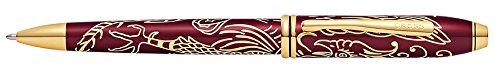Cruz Townsend año del gallo Titain rojo laca Bolígrafo, color Titan Red Laquer