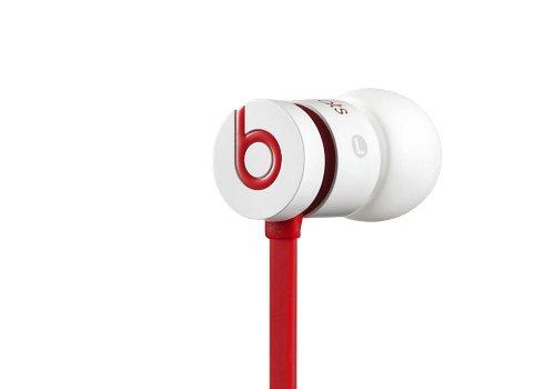 urBeats Auricolari In-Ear, Bianco e Rosso