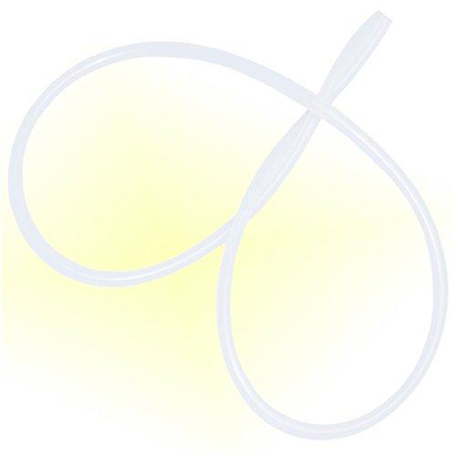 Milchschlauch Schlauch 3mm / 6mm , 1 Meter lang, für Vollautomaten von Jura , DeLonghi , Seaco , Nivona , Krups , AEG , CAFE BONITAS und Andere 3mm innen 6mm aussen. 1 Meter lang, von Holzhäuser.