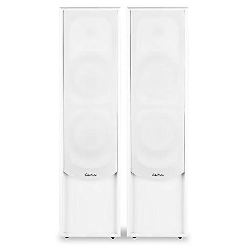 Auna LINIE-300-WH Enceinte pour MP3 & Ipod Blanc