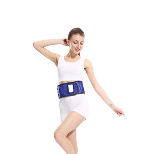 Liu Yu·casa creativa LIU-cinturón para adelgazar Eléctrico Vibración Cintura Masaje Adelgazamiento...