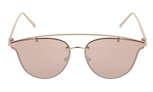 VESPL Premium Collection Silver Mercury Cat eye Sunglasses V-6708