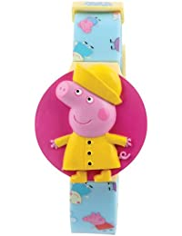 Peppa Pig Interchangeable Head Digital Watch & Badge Clip