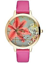 Reloj mujer Charlotte rafaelli (acero Floral 38 mm crf011