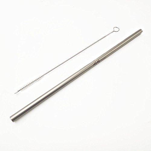 TITO - Pajita Titanio Cepillo Limpieza 6 mm diámetro