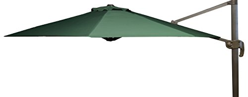 beo Sonnenschirme wasserabweisend ohne Standfuß Sonnenschutz, rund, Durchmesser 300 cm, grün