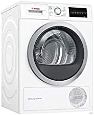 Bosch Serie 6 WTW87499FF sèche-linge Autonome Charge avant Blanc 9 kg A - Sèche-linge Pompe à chaleur, Blanc,