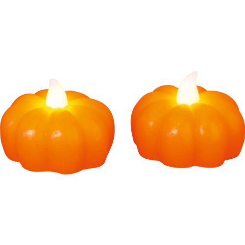 star-decoration-de-table-led-citrouille-2-pieces-flamme-vacillantematiere-cire-couleur-orangepiles-i