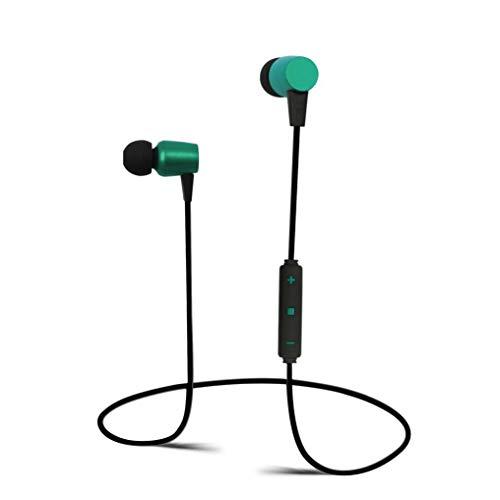 Bluetooth Kopfhörer,Huhu833 Drahtloser Bluetooth Kopfhörer Stereokopfhörer Sport für iPhone für Fahrwerk (Minz grün)