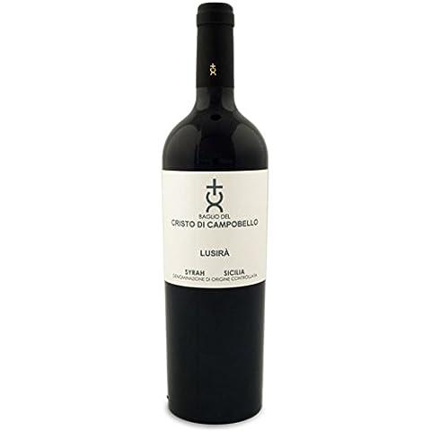 Baglio del Cristo di Campobello - Vino Lusirà Syrah - 2012 - 1 Bottiglia da 750 ml