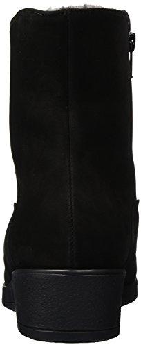 SemlerSella - Stivali a metà gamba con imbottitura pesante  Donna Nero (Nero (001 schwarz))