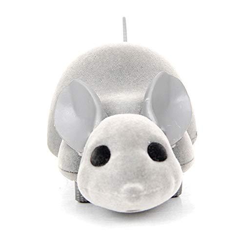 NiFuQin Katzenspielzeug Haustierspielzeug Fernbedienung Fake Toy Mouse Elektrisches Katzenspielzeug Apple Andrews Universal Pet Toy (Hund Ohren Fake Die)