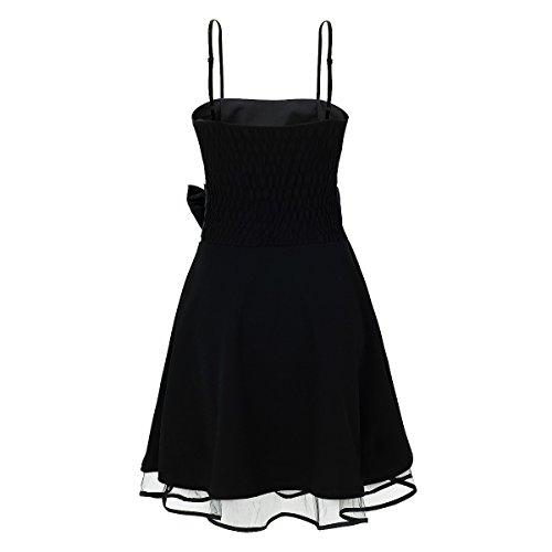 Laeticia Dreams Damen Kleid Petticoat Rockabilly S M L XL Schwarz