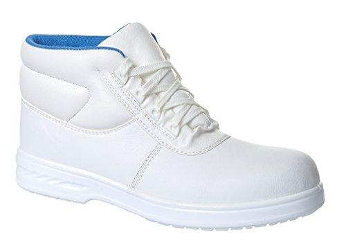 Portwest FW88–Blanc avec lacets de démarrage S236/3, FW88WHR41 blanc