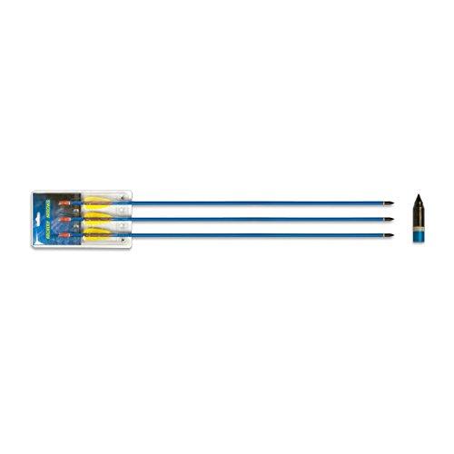 Hellbow Juego de 3 Flechas de Aluminio DE 30 Pulgadas Arco de Tiro