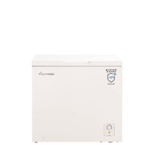 31C If72J0L. SS500  - Fridgemaster MCF194 89.1cm Wide 194 Litre Chest Freezer - White