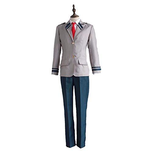 ZY Anime Kostüm Cosplay Dress Up Hosen Daily Apparel Film Kostüm Halloween Anime Schuluniform,Full Set-L (Aller Eine Liste Halloween-filme)