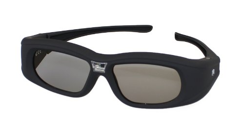 4x PULOX G05-DLP aktive 3D TV-Shutterbrille für DLP-Link 3D-Projektoren und Beamer inkl. USB-Ladekabel