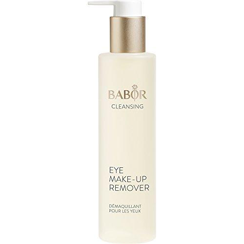 Punkt Make-up Entferner (BABOR CLEANSING Eye Make up Remover, milder, ölfreier Augen Make-up Entferner, auch für wasserfestes Make-up geeignet, für empfindliche Haut, 1x100ml)