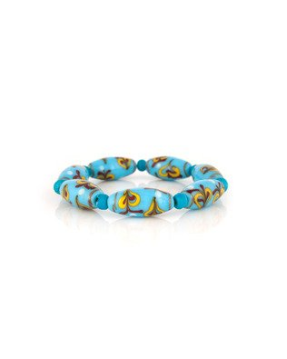 Voylla Stylish Blue Beaded Bracelet  available at amazon for Rs.147