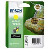 Preisvergleich Produktbild Epson T0344 Tintenpatrone Chamäleon, Singlepack, gelb