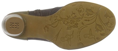 El Naturalista N472 Ibon Brown-Leaf/ Colibri, Bottes Courtes  Femme Multicolore (BROWN-LEAF NUR)