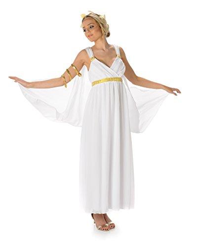 riechische Göttin Römische Frauen Erwachsene Kostüm (XL European 48 - 50 (UK 20 - 22)) (Frauen Römischen Kostüme)