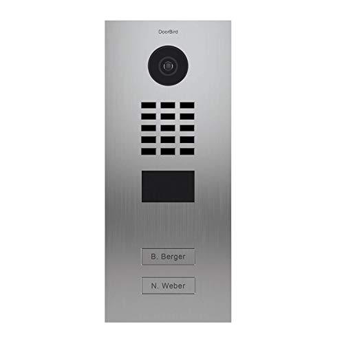 Doorbird D2102V Video-Zugangssystem, Edelstahl