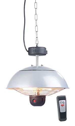 Semptec Quarz-Heizstrahler: Infrarot-Decken-Heizstrahler m. Fernbed, 800-2.000 Watt, LED, IPX4 (Infrarot-Außen-Heizstrahler) - 2