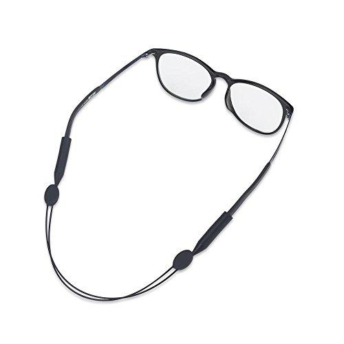 Tbest Brillenband Sport Brillenkordel Schwarz, Brillenband Lesebrille Elastisches Sportbrillenband Eyewear Strap Glasses Strap Schwimmfähig Für Kinder, Männer, Frauen