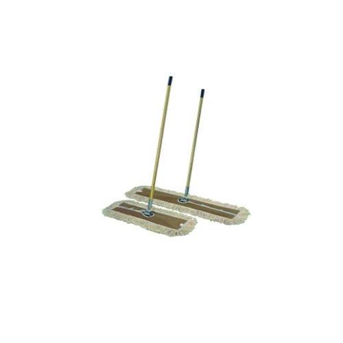 Euroservice - Scopa lineare con manico, telaio e ricambio cm 40