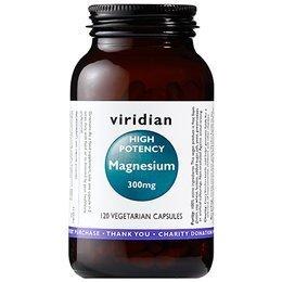 Viridian High Potency Magnesium 300mg (120 Vegetarian Capsules)