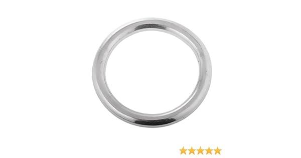 Edelstahl-Rundringe und D-ring O-Ringe D-Ringe Edelstahlringe Edelstahlring
