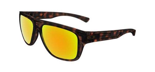 Oakley Herren Breadbox Sonnenbrille, Schwarz (Tortoise), 56