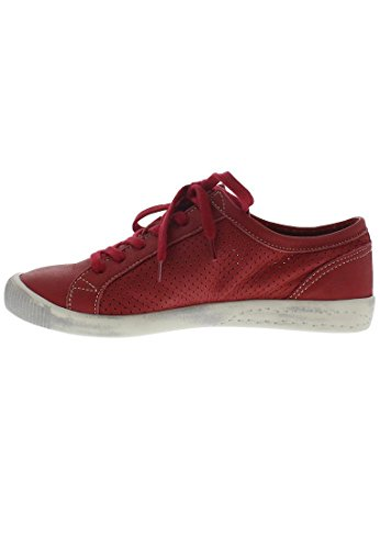 Softinos  Ica388sof, Sneakers Basses femme Rouge