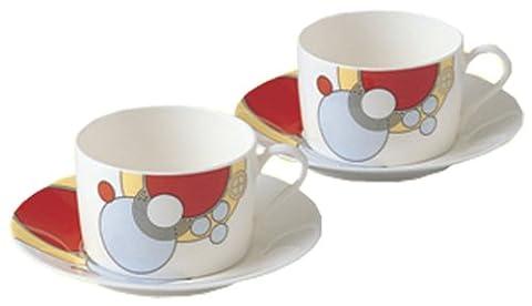 Noritake bone china Frank Lloyd Wright design tableware tea and