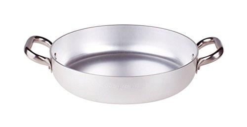 Pentole agnelli almr111040 tegame radiante, alluminio professionale 5 mm, 40 cm