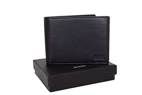 hugo-boss-arezzo-50128297-black-leather-mens-trifold-wallet-with-coin-pocket