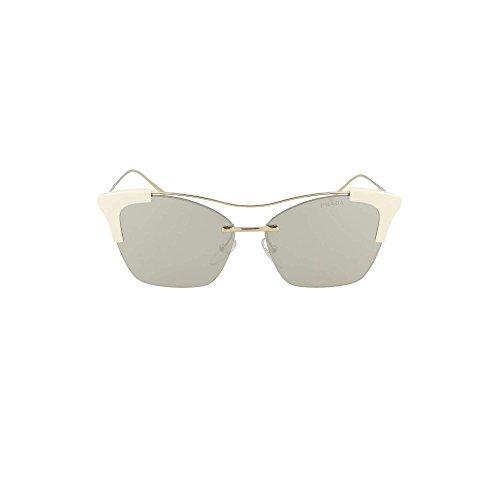 Prada Sonnenbrillen FULL METAL TEMPLE EVOLUTION PR 21US WHITE/SILVER Damenbrillen
