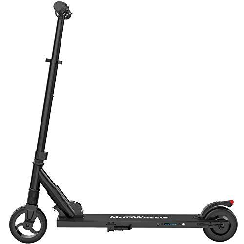 M MEGAWHEELS Monopattino Elettrico Pieghevole Scooter,10-12Km di Autonomia,Velocità fino a 23km/h, per Adulto,Bamb