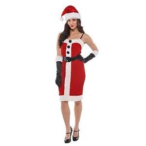 Christy`s 996131 - Disfraz de Mamá Noel para mujer