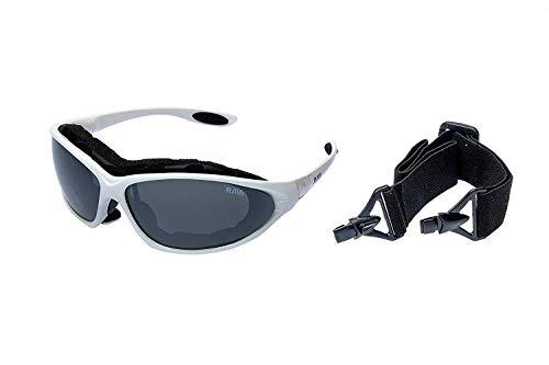 RAVS SPORTBRILLE -Sonnenbrille -KITEBRILLE Skibrille/Bike Brille inkl. MICROFASERTASCHE/Tuch