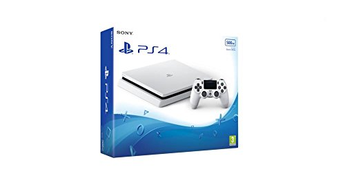 Sony PlayStation 4 500GB - Glacier White